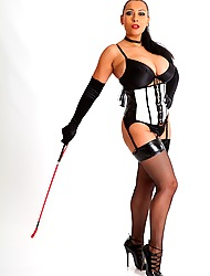 Blooper Danica cracks the surpass in her stockings coupled with corset