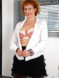Anilos.com - Freshest grown-up women on the net featuring Anilos Naomi Xxx grown-up redhead