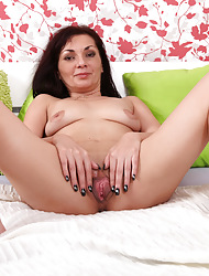 Anilos.com - Freshest grown-up women on the corral featuring Anilos Tyna Black horny grown-up